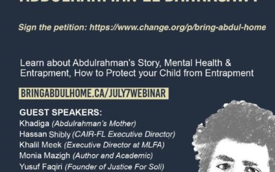 Webinar – The Tragic Injustice of a Canadian Minor with Mental Illness: Abdulrahman El Bahnasawy